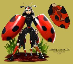 Ladybug Cocinel lYar by umbrafox