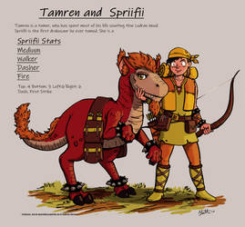 Tamren and Spriifii by umbrafox