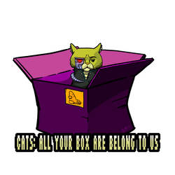 All Your Box are Belong to Us by umbrafox