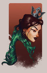 The Viridian Queen by umbrafox