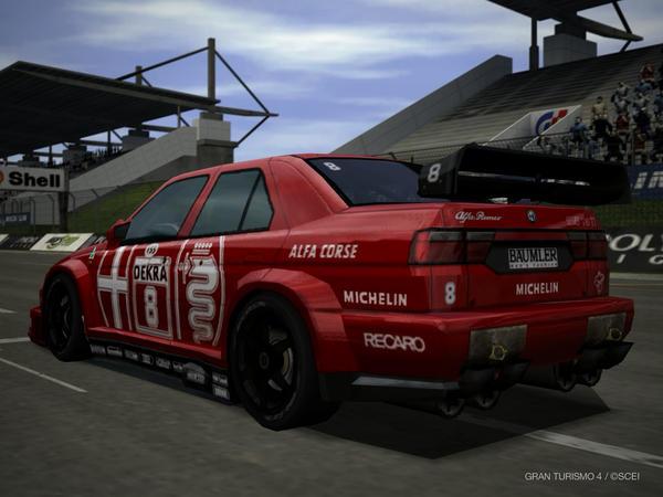 Alfa Romeo 155 DTM Back