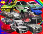 San Diego Auto Show Collage by granturismomh