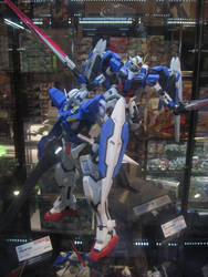 Gundam Exia and 00 Raiser by granturismomh