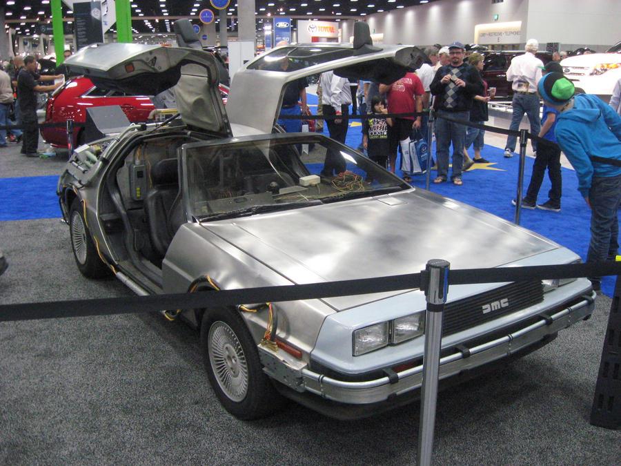 Delorean dmc 12 back to the future car by granturismomh on deviantart