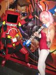 FLCL Haruko Haruhara and Canti Cosplay by granturismomh