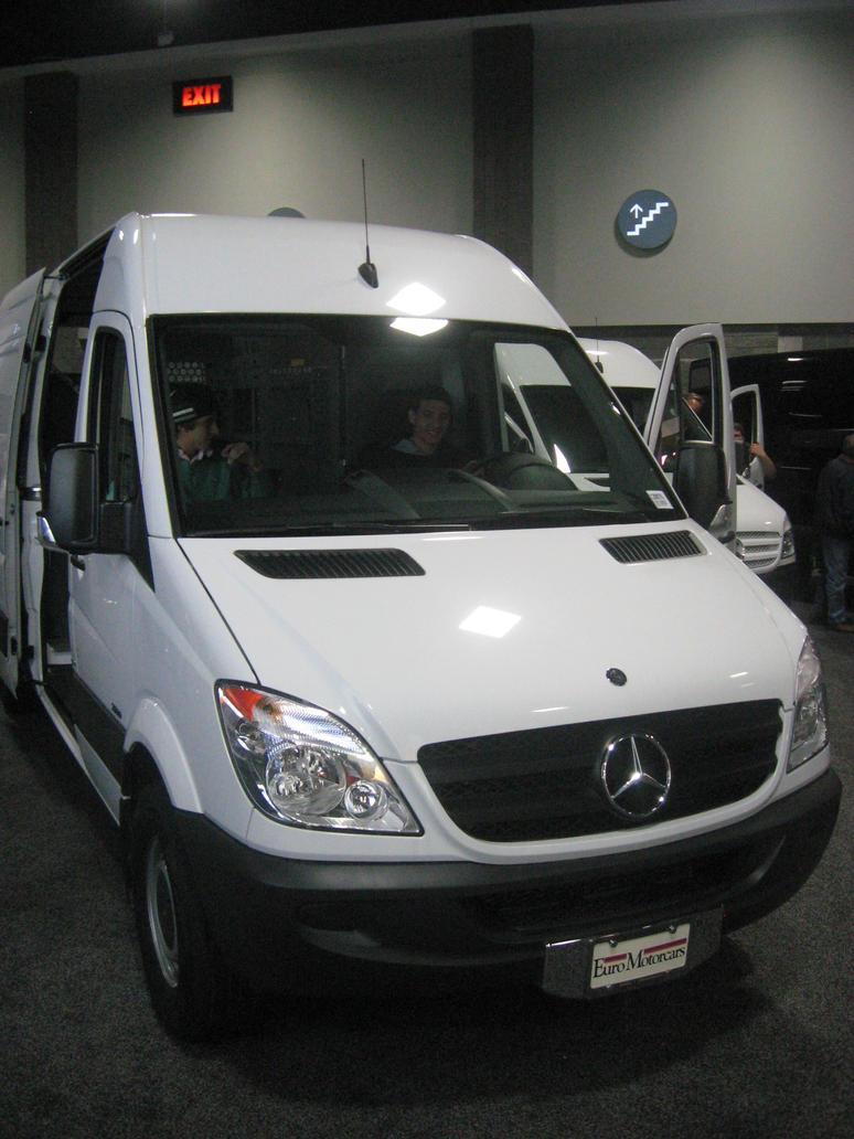 Mercedes benz sprinter white cargo van by granturismomh on for 2013 mercedes benz sprinter cargo van