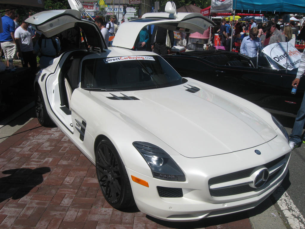 Mercedes benz sls amg on vienna va by granturismomh on for Tysons mercedes benz