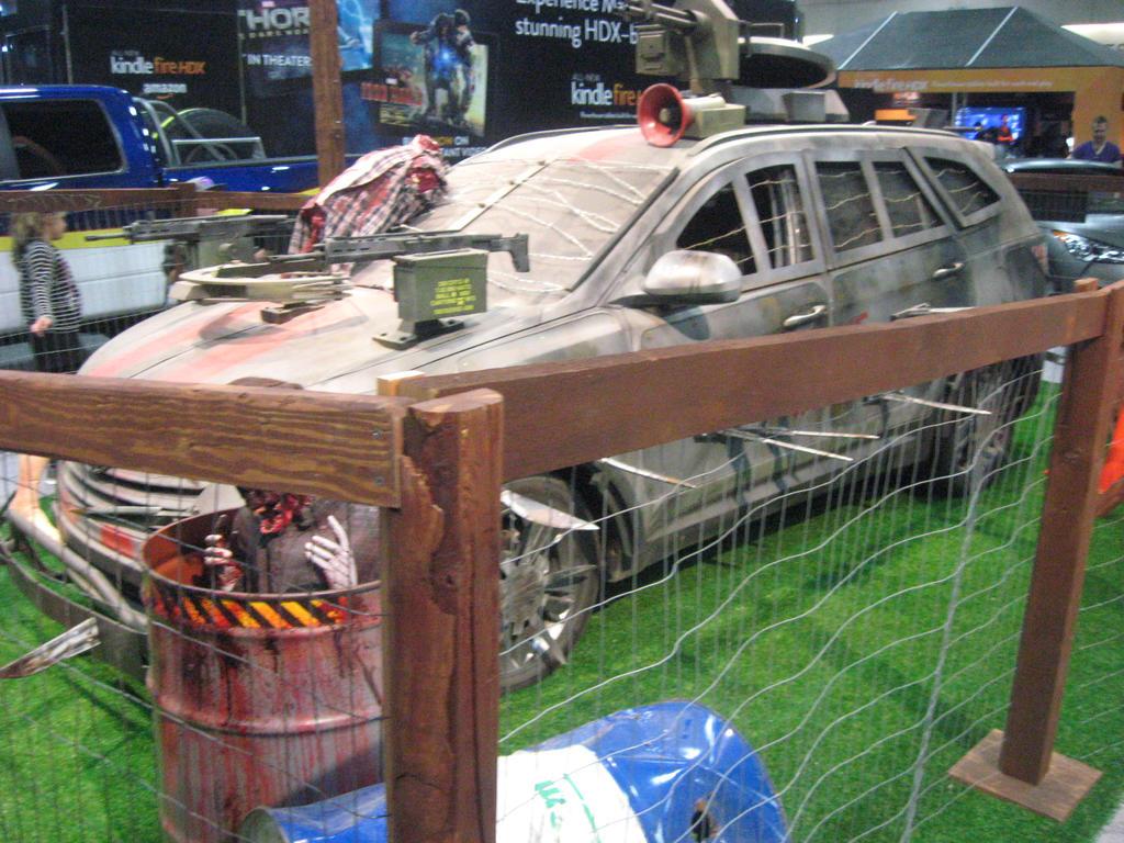Hyundai Santa Fe The Walking Dead by granturismomh