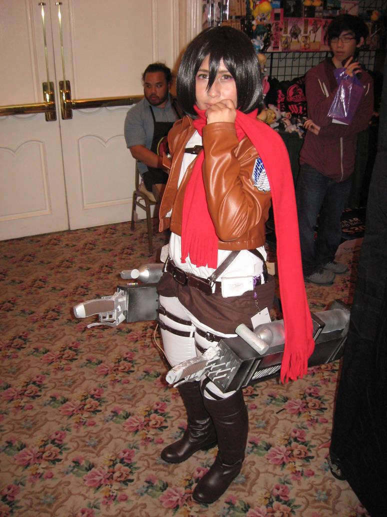 Mikasa Ackerman Cosplay by granturismomh