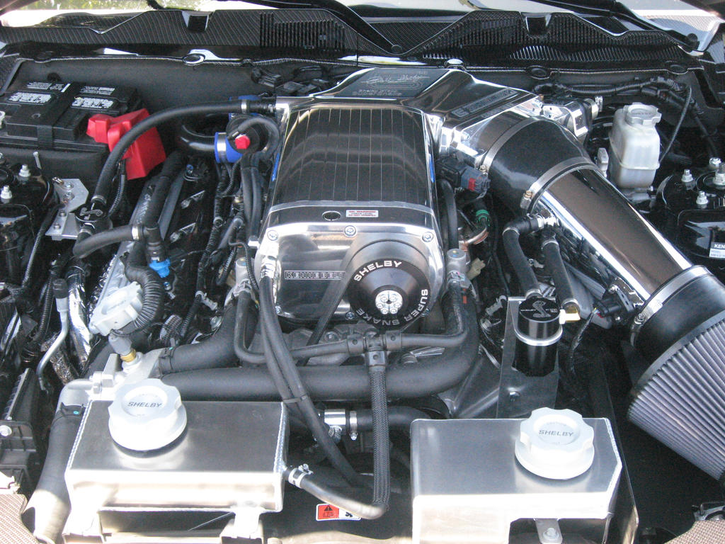 Shelby GT500 Super Snake Engine by granturismomh on DeviantArt