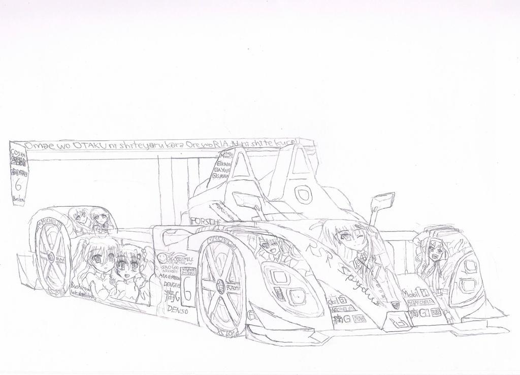 Itasha Porsche RS Spyder by granturismomh