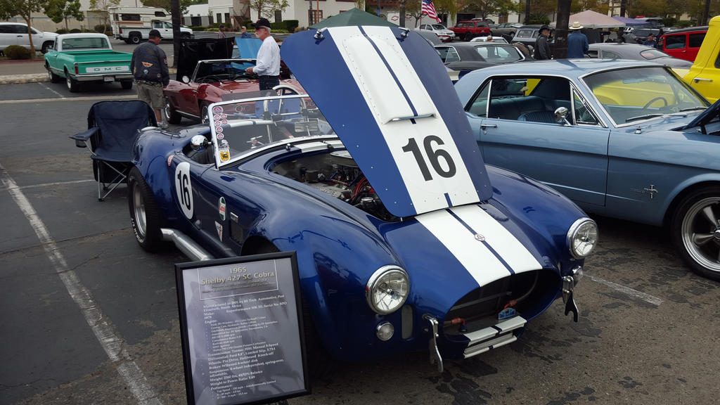 Made in South Africa Shelby Cobra  by granturismomh