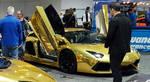Golden Chrome Lamborghini Aventator V12 Supercar  by granturismomh