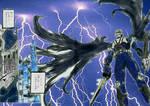 Kamen Rider Knight Colors Manga Ver. by granturismomh