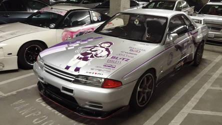 Nissan R32 Skyline GT-R Itasha Love Live!