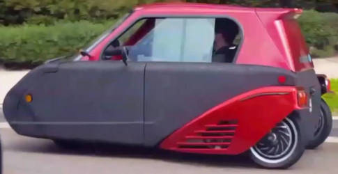 Three Wheel Electric Miniature Car by granturismomh