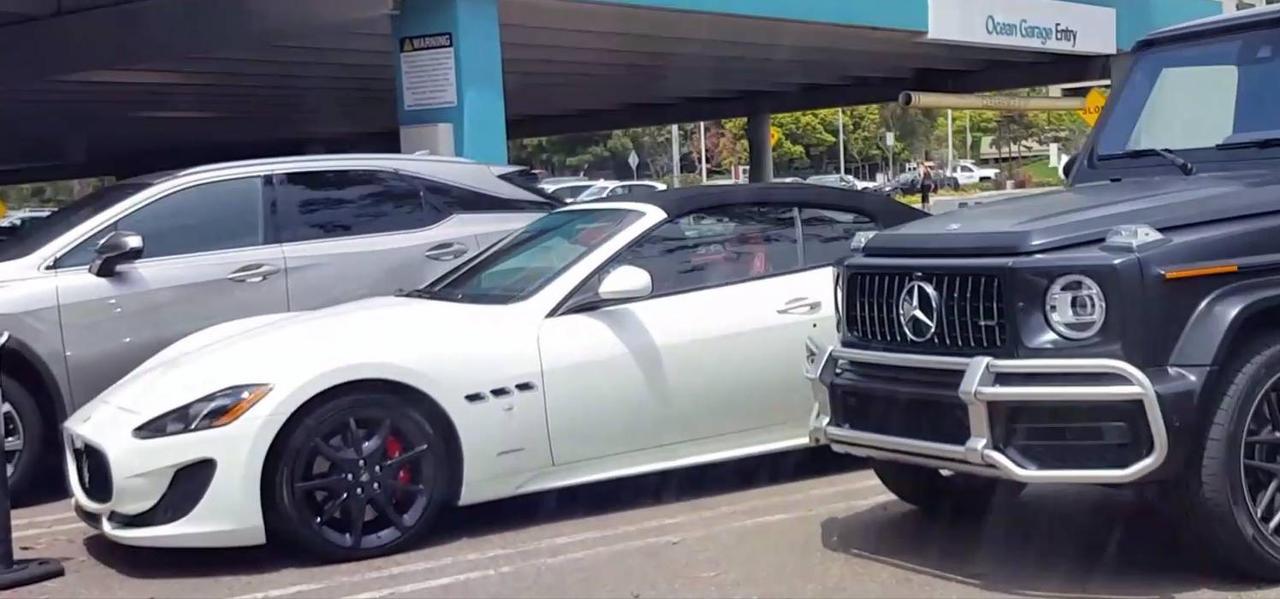 Mercedes AMG G65 and Maserati Gran Cabrio by granturismomh
