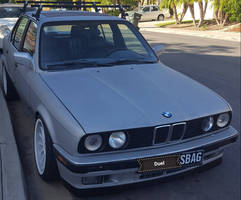 BMW 3 Series E30 Stance Tuned