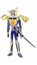 Kamen Rider Gaim Orange Colors Version