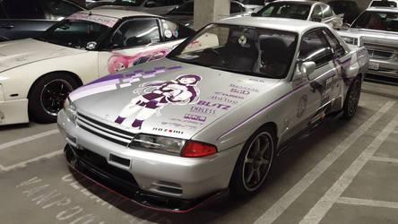 Itasha Nissan Skyline GTR Love Live