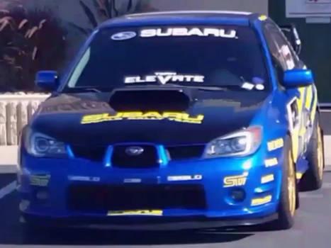 Subaru Impreza WRX STi WRC Rally Car