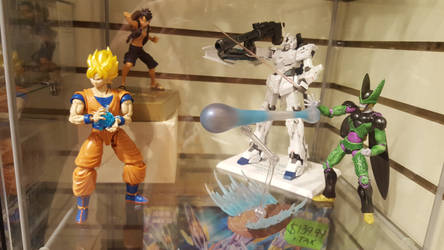 Gundam and Anime Figures