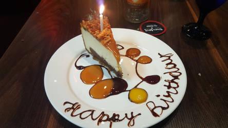 My Birthday Brazilian Cheesecake