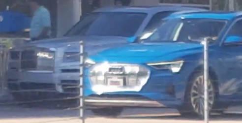 Rolls-Royce Cullinan and Audi E-Tron