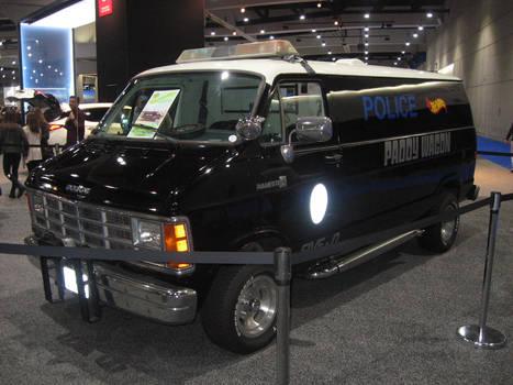 Dodge Ram Van Hawaii Five O Paddy Wagon