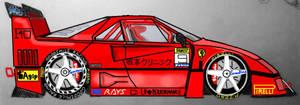 Ferrari F40 LM Evoluzione