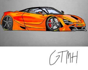McLaren 720S Illustratior