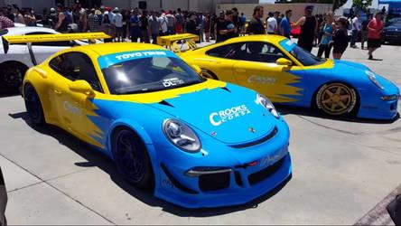 Porsche 911 GT3 Corsa Racing Cars