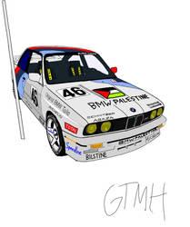 BMW M3 E30 DTM IbisX Paint
