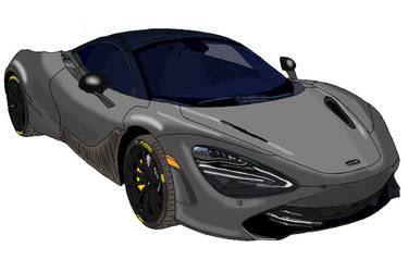 McLaren 720S Automobile Design