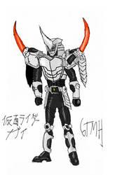 Kamen Rider Gai Ver GTMH Colors 2