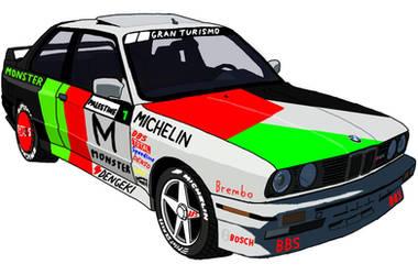 BMW M3 E30 EVO Drift Car