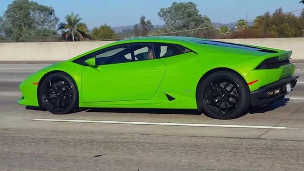 Lamborghini Huracan V10 Supercar