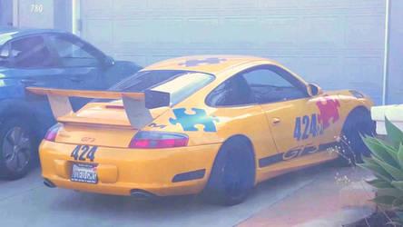 Porsche 911 GT3 Racing Car