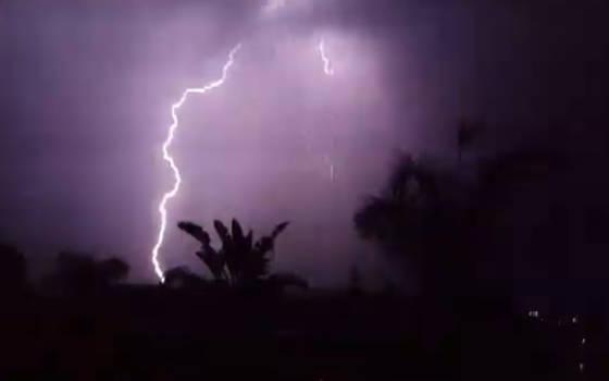 Real Thunderbolt and Lightning