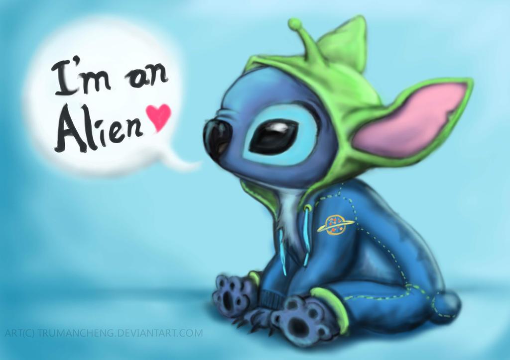 Stitch Is An Alien By Trumancheng On Deviantart