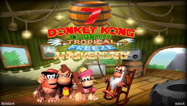 7th anniversary Donkey kong country:tropicalfreeze