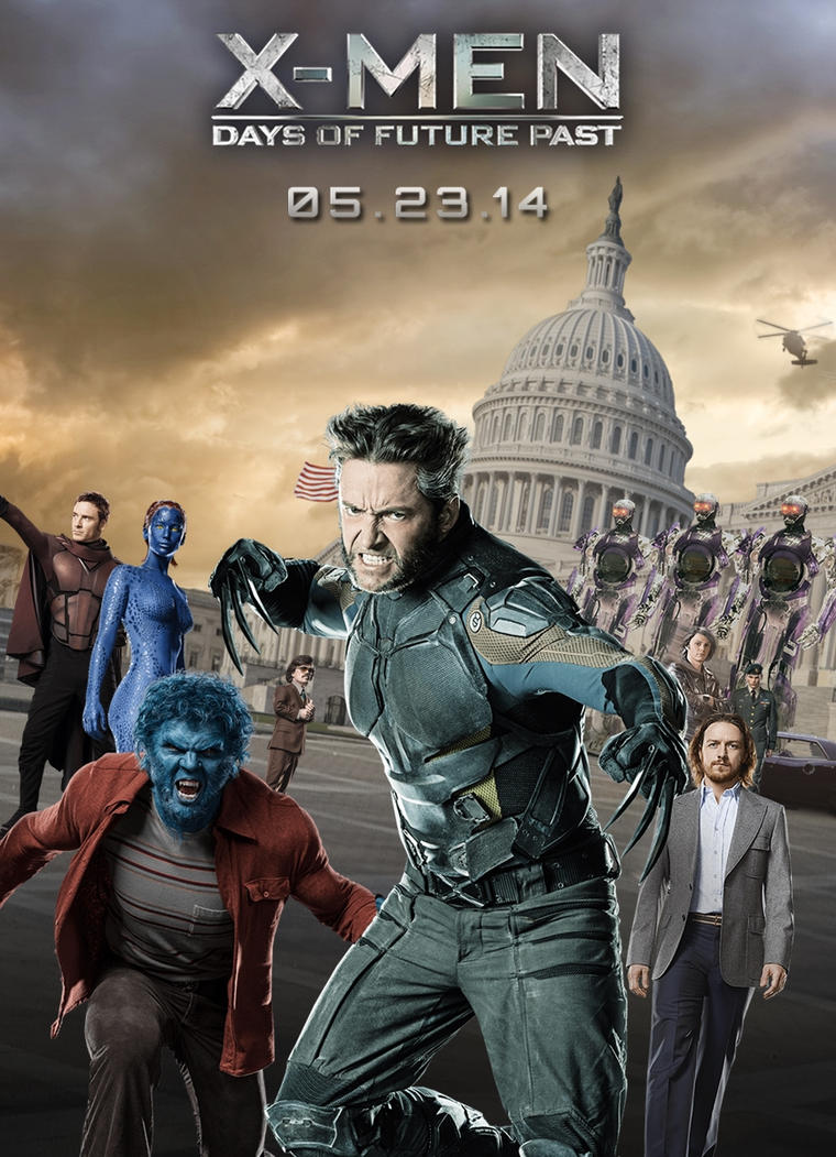 X Men: Days of Future Past poster [1] by augustohag on ...