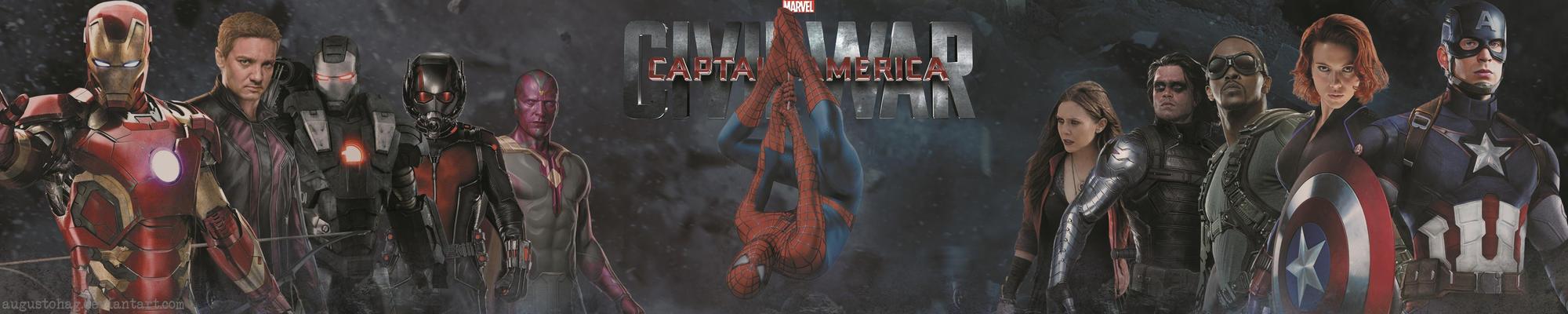 Captain America: Civil War MARVEL by augustohag