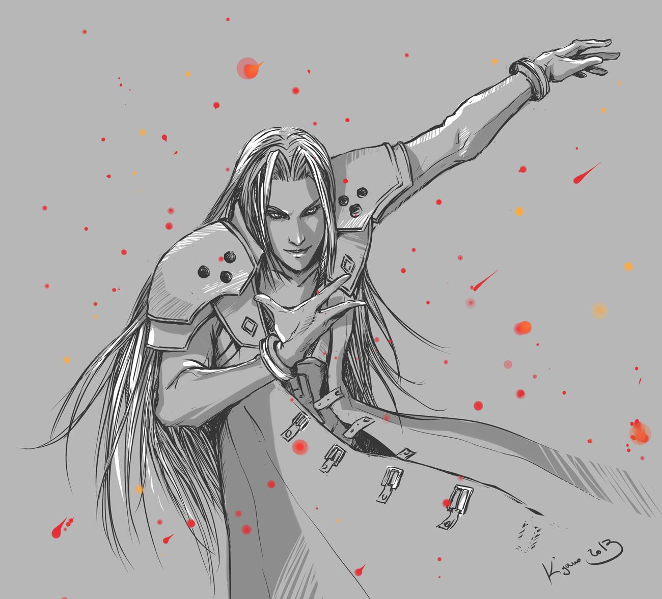 Sephiroth by Rukinda