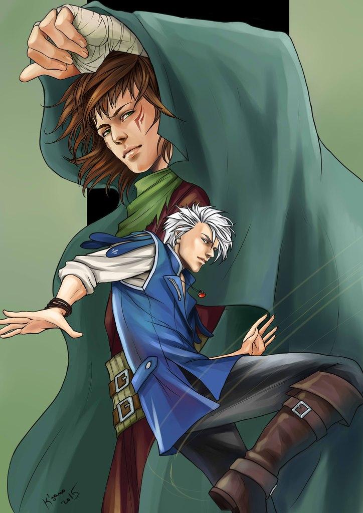 Kyano and Rickk by Rukinda