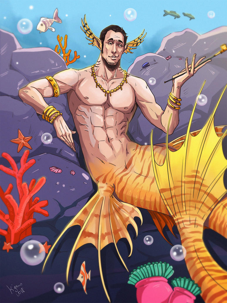 Mermaid Borsalino by Rukinda