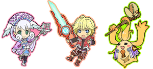 mini Xenoblade by he-taro