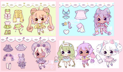 OTA Adoptables: OPEN [paypal now available]