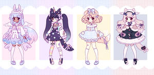 Auction Adoptables - CLOSED