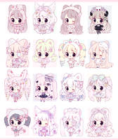 Set price adopts - OPEN [1/16] PRICE DROP $25 by mahkala